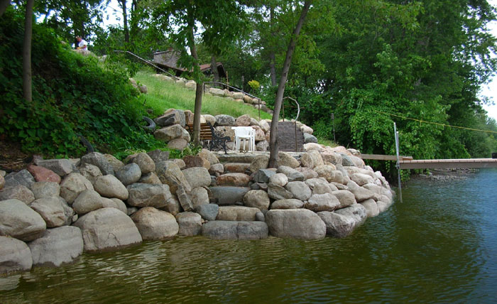 Landscaping Boulders Mn : Minneapolis landscaping minnesota landscape design mn