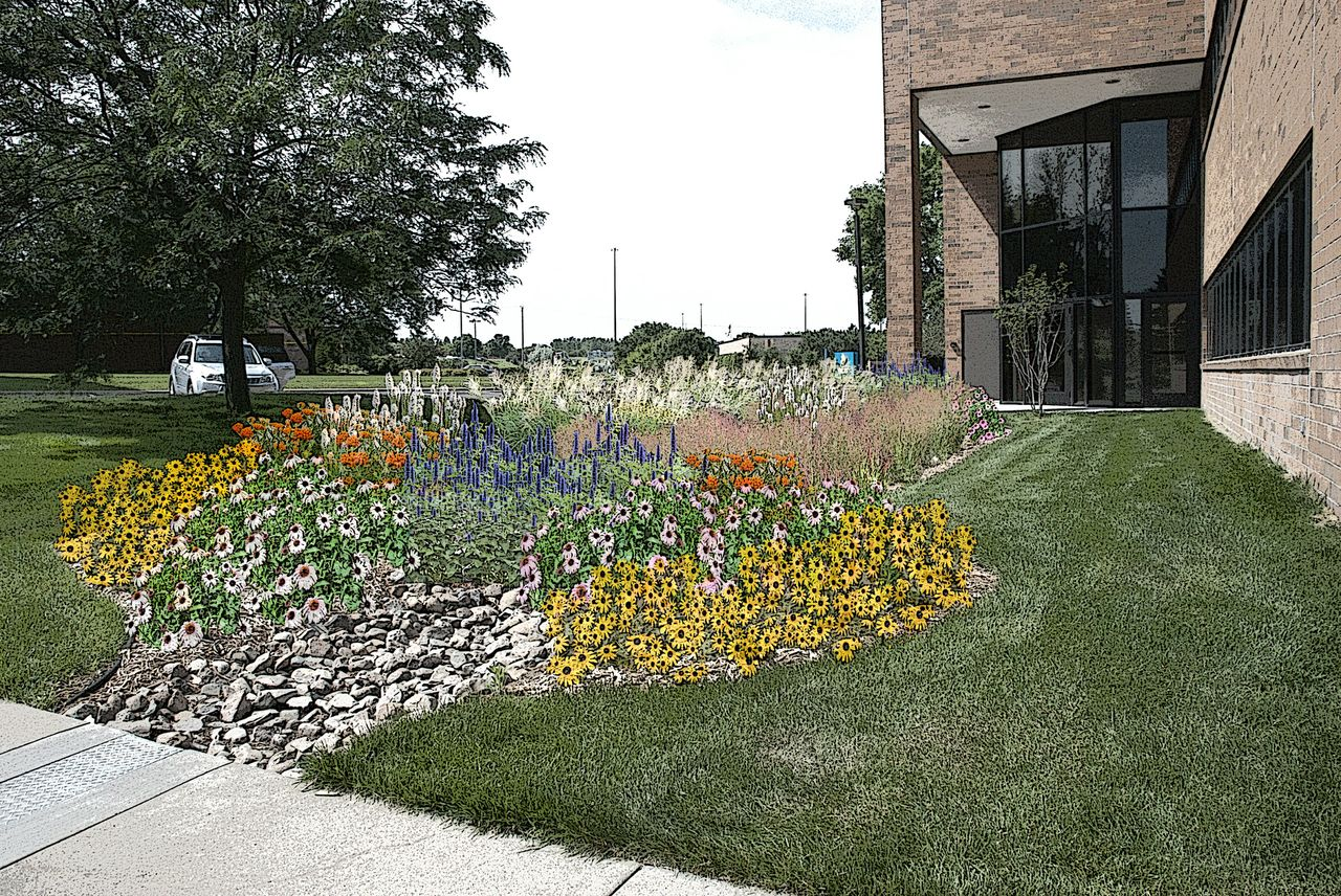 Landscaping for Water Drainage in Minneapolis