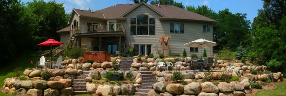 Two-in-one Landscape Design Minneapolis