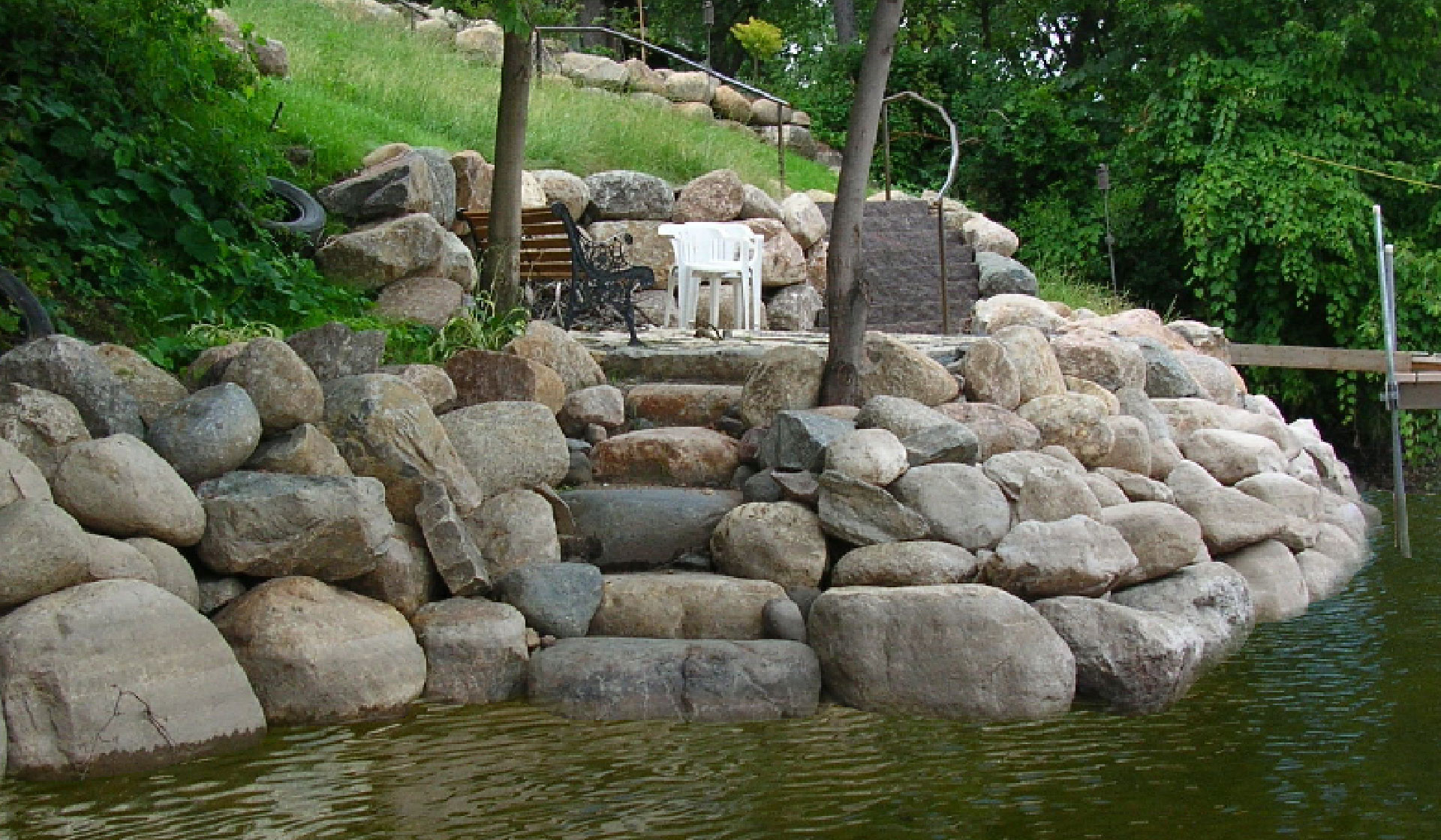 Riprap Landscaping Minneapolis MN