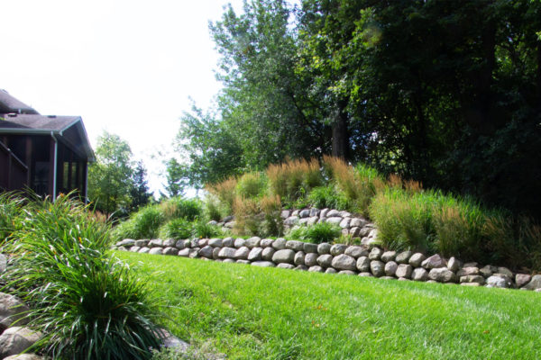Retaining Wall Landscaping Minneapolis MN