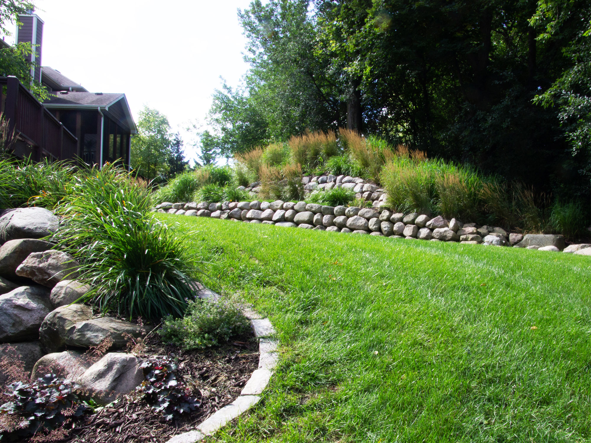 Retaining Wall Landscaping Minneapolis
