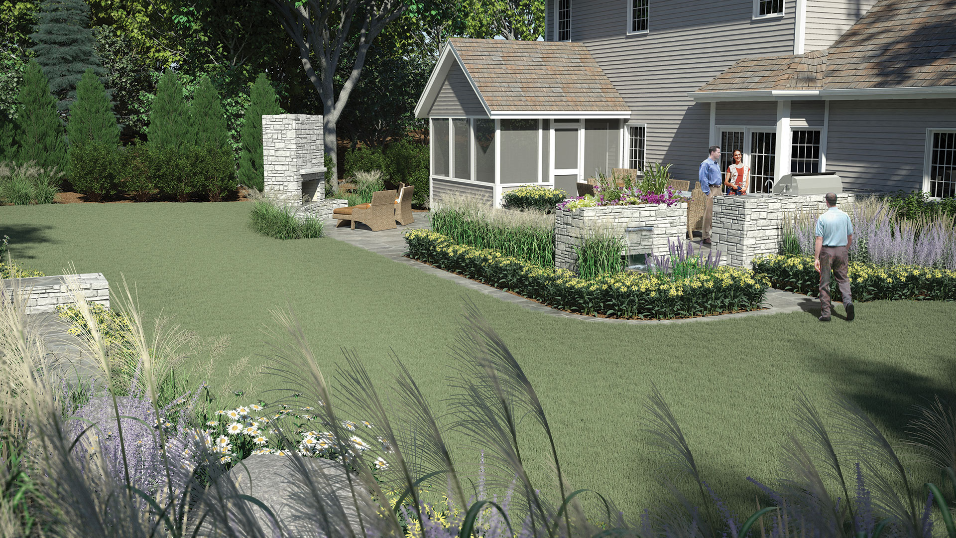 Landscaping Minneapolis Minnesota Chanhassen MN