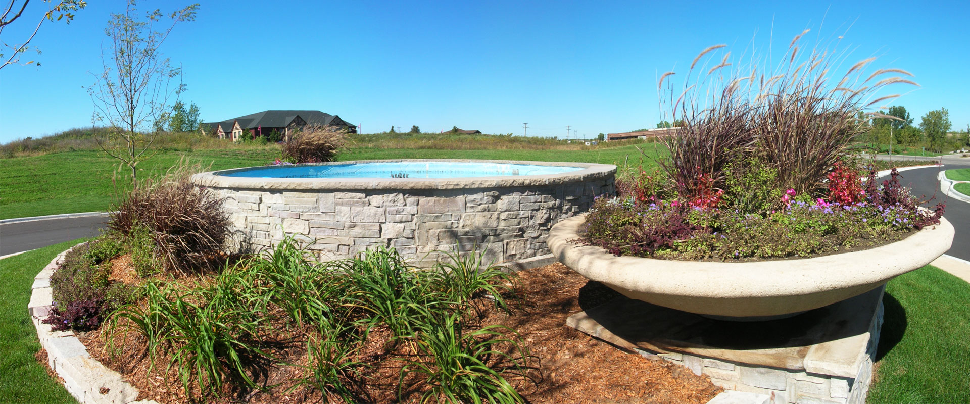 Minneapolis Landscaping with Water Features